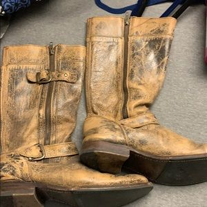 Bed Stu Distressed boots